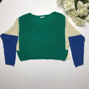 I Love H81 pullover sweater size S 80s style NWT
